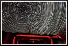 AltaStarTrails20190702 (bjarne.winkler) Tags: star trails north polaris alta ca 200 frames 120 minutes earth rotation photo safari jeep foreground