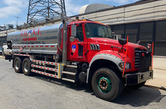 FDNY Fleet Services Mack Granite Diesel Fuel Tanker (NY's Finest Photography) Tags: highway patrol state nypd fdny ems police law enforcement ford dodge swat esu srg crc ctb rescue truck nyc new york mack tbta chevy impala ppv tahoe mounted unit service squad dcu windshield road