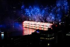 Last night, in Brooklyn (blurb) Tags: cityscape event night 2019 4thofjuly newyork nyc fireworks