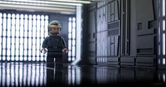 Corridor Of Power (delgax) Tags: delgax toy toys toyphotography small scale lego minifig minifigure minifigures miniature tarkin moff death star starwars anewhope scifi sciencefiction
