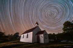 Manaia Trails (hakannedjat) Tags: church stars startrails astro astrophotography astroscape sony sonynz sonya7rii a7rii