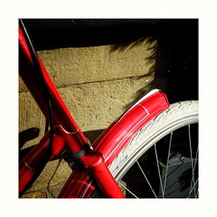 Red... (zapperthesnapper) Tags: bike red sonyimages sony sonyrx100