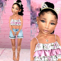 """Hi, my name is Ciani Venturi"" (env.y) Tags: td toddler secondlife kids fashion beauty blogger cute"