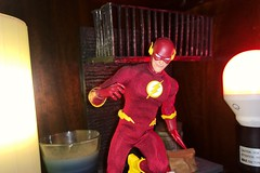 Flash Photography (misterperturbed) Tags: flash dccomics mezco wallywest diamondselect one12 lifx phillipshue one12collective mezcoone12collective