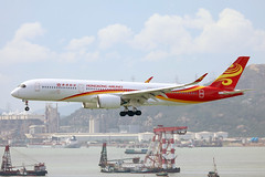Hong Kong Airlines A350-900 B-LGH landing HKG/VHHH (Jaws300) Tags: rr trent xwb hongkongcheklapkokinternationalairport cheklapkok cheklapkokairport cheklapkokinternationalairport lantauisland canon5d shortfinal finalapproach cargolighter hongkongairlines hong kong chek lap kok international airport lantau island final approach short airlines canon 5d airways jet approaching landing hkia vhhh hkg air hongkong clk airplane aircraft eos runway 25r airliner plane asia hka winglets airbus a350900 blgh asiaworldcity lgh containership container ship ships tug boat boats cargo lighter