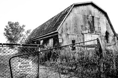 Private Property (Neil Cornwall) Tags: 2019 canada june ontario rivercanard summer barn notrespassing privateproperty essexcounty