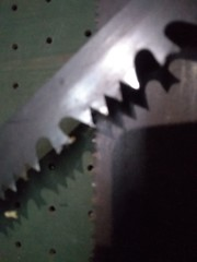 Saw Blade (neukomment) Tags: danger saw teeth sharp macro macromondays