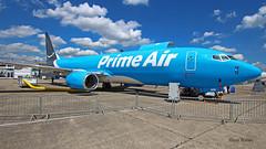 Boeing B737 ~ N855DM  Prime air (Aero.passion DBC-1) Tags: 2019 salon du bourget paris airshow dbc1 david biscove aeropassion avion aircraft aviation plane meeting lbg boeing b737 ~ n855dm prime air
