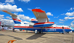 Beriev BE-200ES n° 7682000003 ~ 21512  MChS (Aero.passion DBC-1) Tags: 2019 salon du bourget paris airshow dbc1 david biscove aeropassion avion aircraft aviation plane meeting lbg beriev be200 mchs