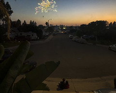 The Fourth Of July 2019 (evaxebra) Tags: july4 july fourth 4th fireworks firework sky night ryan luna watching driveway