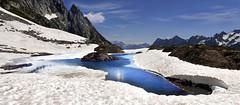 piña colada (art & mountains) Tags: alpi alps leventina valbedretto lagoalpino granito roccia hiking esc esp condivisione natura disgelo silenzio blu blue contemplazione spazio linea superficie vision dream spirit