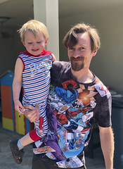 Happy Daddy (evaxebra) Tags: july4 july fourth 4th blackmilk ryan ash son father