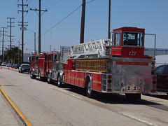 51 In Quarters - L.A. County Fire Department (Formerly known as Bigbend700) Tags: emergency 51inquarters tv show wardlafrance restoration classic vintage actor robertacinader memorial firestation firetruck engine51 squad51 carson california socal event dedication restored pumper 127 firestation127 1973 randolpmantooth johnnygage kevintighe bobcinader mikestoker losangelescountyfiredepartment lacountyfd kylemorgan darylosby chief paulschneider scottcwilliams station51 fun 1965 crownpumper crown museum lacountyfiremuseum losangelescountyfiremuseum bellflower engine squad fire rescue red olympus camera july 2011 dodge studio universal summer e620 roydesoto