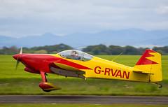 G-RVAN RV-6, Scone (wwshack) Tags: egpt psl perth perthkinross perthairport perthshire rv6 scone sconeairport scotland vans grvan