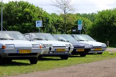 1984 Citroën BX 14 E + 1987 Citroën BX  19 GTI + 1992 Citroën BX 19 TGI + 1991 Citroën BX 16 TZI (Dirk A.) Tags: kz03rh sidecode4 rk55nv fszr05 sidecode5 zd48vt 1984 citroën bx 14 e 1987 19 gti 1992 tgi 1991 16 tzi onk