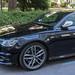 Teures schwarzes Luxusauto Audi s6 in einer Münchner Straße geparkt