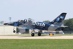 N139LS, Aero Vodochody L-39, Oshkosh 2018 (ColinParker777) Tags: aviation plane airplane aircraft fighter jet military us united states air force landing rollout private usa america oshkosh kosh osh airventure eaa experiments association wi wisconsin 2018 canon 7d 7d2 7dmk2 7dmkii 7dii 100400 l lens mk2 mkii pro zoom telephoto n139ls aero vodochody czech republic check czek l39c 330202 farnsworth scott experimental vision above all parachutes strong method seven curtis noble photography dashracer 38 touchdown wheelie