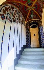 Art nouveau - lover (Ladyhelen_) Tags: vilaprimavesi secese artnouveau olomouc colors art words verses poem poetry