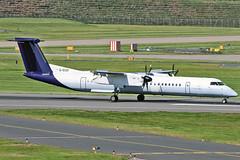 G-ECOI DHC-8Q 402 Flybe BHX 27-06-19 (PlanecrazyUK) Tags: egbb birminghaminternational birminghamairport bhx international birmingham gecoi dhc8q402 flybe 270619