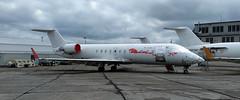 Air Canada Bombardier CRJ100 (Sentinel28a1) Tags: aircanada aircanadajazz bombardier crj100 greatfalls greatfallsinternationalairport airliner regionaljet aircraft