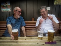 Friendship and Beer (thorpenick62) Tags: gratitude dogwood2019week27 dogwood2019 dogwood52