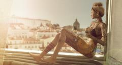 ᵀᵒ ᵗʰᵒˢᵉ ʷʰᵒ ʰᵃᵛᵉ ᵍⁱᵛᵉⁿ ᵘᵖ ᵒⁿ ˡᵒᵛᵉ..ᴵ ˢᵃʸ,  ᵗʳᵘˢᵗ ˡⁱᶠᵉ ʲᵘˢᵗ ᵃ ˡⁱᵗᵗˡᵉ ᵇⁱᵗ..... (scarlettrose.karsin) Tags: vegastattoo tattoo bodyart sl secondlife avatar avi genusproject maitreya truthhair bikini summer blogger blog