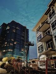 Development. (thnewblack) Tags: huaweip30pro leicaoptics inexplore construction building britishcolumbia night lowlight nightahot vsco smartphone cameraphone