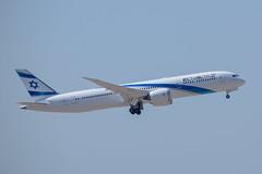 El Al B789, 4X-EDK, TLV (Brand New) (LLBG Spotter) Tags: elal b787 tlv aircraft airline 4xedk llbg