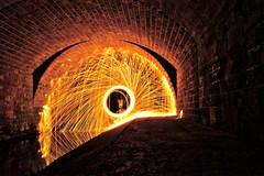 Steel Wool. Take 1. (skajoni37) Tags: night nightphotography light longexposure sonyilce7 sony lighttrail lightpainting