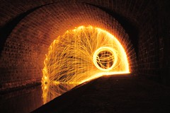 Steel Wool. Take 1. (skajoni37) Tags: night nightphotography sonyilce7 sony light lighttrail lightpainting fullframe