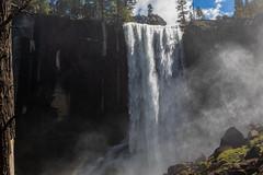 Vernal falls (mpalmer934) Tags: vernal falls yosemite national park california waterfall landscape wilderness scenery hiking trail woods outdoors