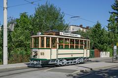 190630_PhotoSonderfahrt-93_002 (Rainer Spath) Tags: österreich austria autriche steiermark styria graz tramwaymuseumgraz tmg tramway strasenbahn tram trams trolley streetcars gtg tw93 grazerwaggonfabrik laudongasse