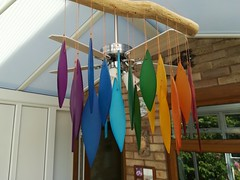 Windchimes (daveandlyn1) Tags: pralx1 p8lite2017 huawei smartphone psdigitalcamera cameraphone windchimes brightcolours indoors conservatory
