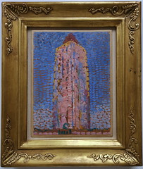 Lighthouse in Westkapelle, 1910 by Piet Mondrian (George M. Groutas) Tags: italy lombardy milan milano museodelnovecento museum ιταλία μιλάνο westkapelle pietmondrian lighthouse