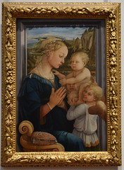 Madonna and Child with Two Angels, The Uffizi Gallery, Florence 2019 (George M. Groutas) Tags: 2019 firenze florence galeríauffizi galleriadegliuffizi gallery historiccentreofflorence italia italianrenaissance italy piazzadellasignoria renaissance theuffizigallery tuscany uffizi uffizigallery uffizien art artmuseum museum ιταλία μουσείο ουφίτσι τοσκάνη φλωρεντία filippolippi adonnaandchildwithtwoangels madonna