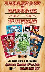 Breakfast in Babbage: 10th Anniversary!