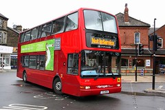Not in Service (Chris Baines) Tags: dennis trident plaxton president v34 moa harrowgate bus station 2719 transdev