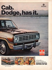 1974 Dodge Club Cab Pickup Truck Chrysler Page 2 USA Original Magazine Advertisement (Darren Marlow) Tags: 1 4 7 9 19 74 1974 d dodge c club cab chrysler corporation carcool collectible collectors classic a automobile m mopar v vehicle u s us usa united states p pickup t truck american america 70s