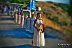 The priestess of Lykaian 2013. (Elias Chris) Tags: lykaionarcadia lykaiongreece lykaionmount lykaiangames megalopolis megalopolisarcadia megalopolisgreece mounten pristess arcadia arkadia arcadiagreece ancient ancientgreece ancientceremony ancientoath athleticoath greece μεγαλόπολη ελλάδα αρκαδία αρχαίαελλάδα nikon1j1 nikon