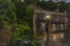 The Stream Cottage (Kev Walker ¦ Thank You 4 Comments n Faves) Tags: nature england landscape view beautiful countryside outdoor derbyshire green castleton peakdistrict highpeak peak district outdoors uk rural scenic village scenery house hill spring country gorge beauty freshair tranquility pathway villagelandscape paths holyday ruralengland water old peakdistrictnationalpark stream rain hdr reflection streetlamps