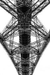 Forth Rail Bridge (andrewryder) Tags: scotland edinburgh bridge railbridge blackwhite bw pattern geometry geometric lines curves patterns
