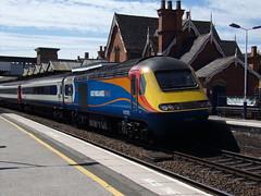 East Midlands Trains Class 43 43082 (Alex S. Transport Photography) Tags: outdoor vehicle stagecoach eastmidlandstrains emt train railway rail locomotive loco diesel class43 highspeedtrain hst intercity125 wellingborough 1d23 43082