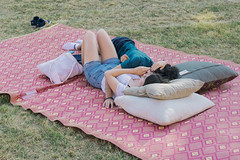 (alessiaecelato) Tags: couple color colours boy girl relax people peace pink park moment landscape