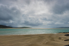 Cloudy day on Luskentyre Beach (Bev & Paul Mynott) Tags: lewisharris luskentyre beaches clouds sky scotland holiday2019 hebrides outerhebrides