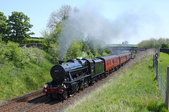 48151 Long Preston 14/5/19 (Ram 69) Tags: 8f 48151 dalesman steam locomotive 1z38