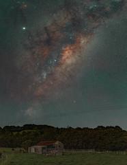 Barn pano 85mm (gaabNZ) Tags: panoramic pano milkyway farm barn galaxy stars astro astrophotography fe85mm sony sonya7mkiii