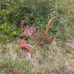 Forgotten Industry (Mac ind Óg) Tags: summer abandoned scotland farmingequipment walking glasnacardoch lochaber mallaig holiday highland explore