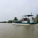 Tour boat near Vylkove