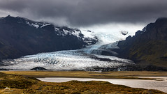 Slowly creeps the ice. (lawrencecornell25) Tags: iceland ice glacialtongue glacier mountains scenery scenic easterniceland oraefajokull nature outdoors extremeterrain nikond850