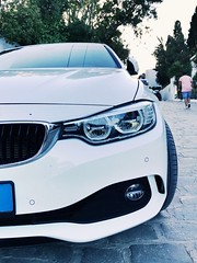 #BMW #luxury #car #tunisia #white #angry #super #details (waelayed) Tags: bmw luxury car tunisia white angry super details
